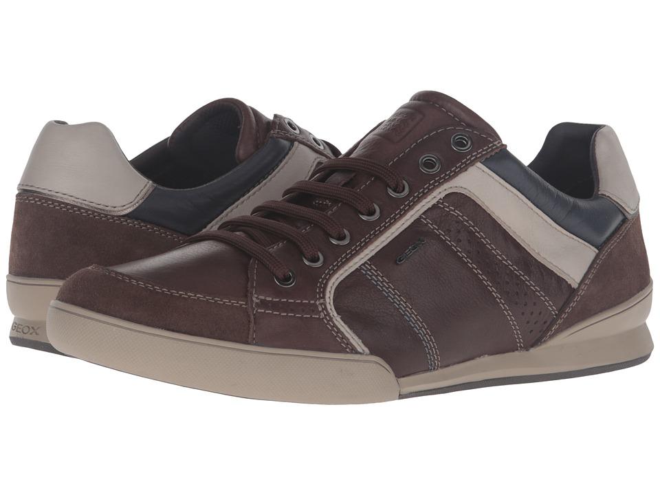 Geox U KRISTOF3 (Dark Brown/Beige) Men