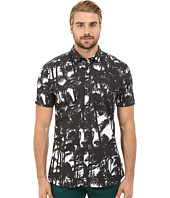 HUGO - Empson - Short Sleeve Palm Print