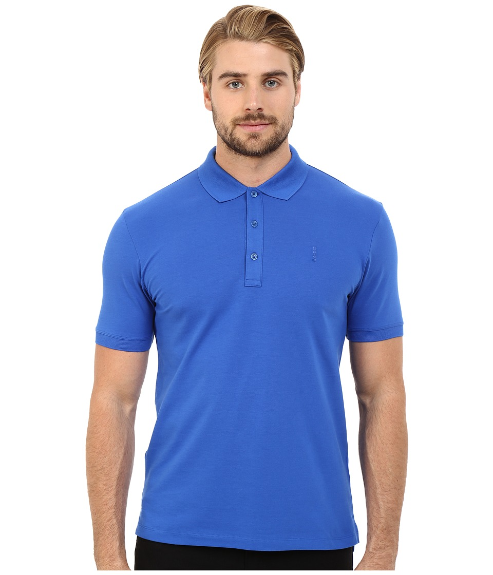 HUGO Nono Basic Polo Bright Blue Mens Clothing