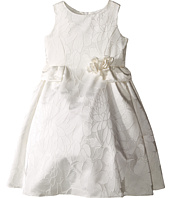 Us Angels - Floral Brocade Ballerina Length Dress (Toddler)