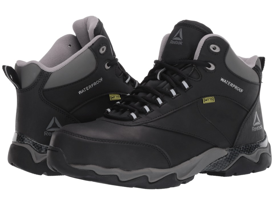 Reebok Work Beamer (Black) Men's Work Boots