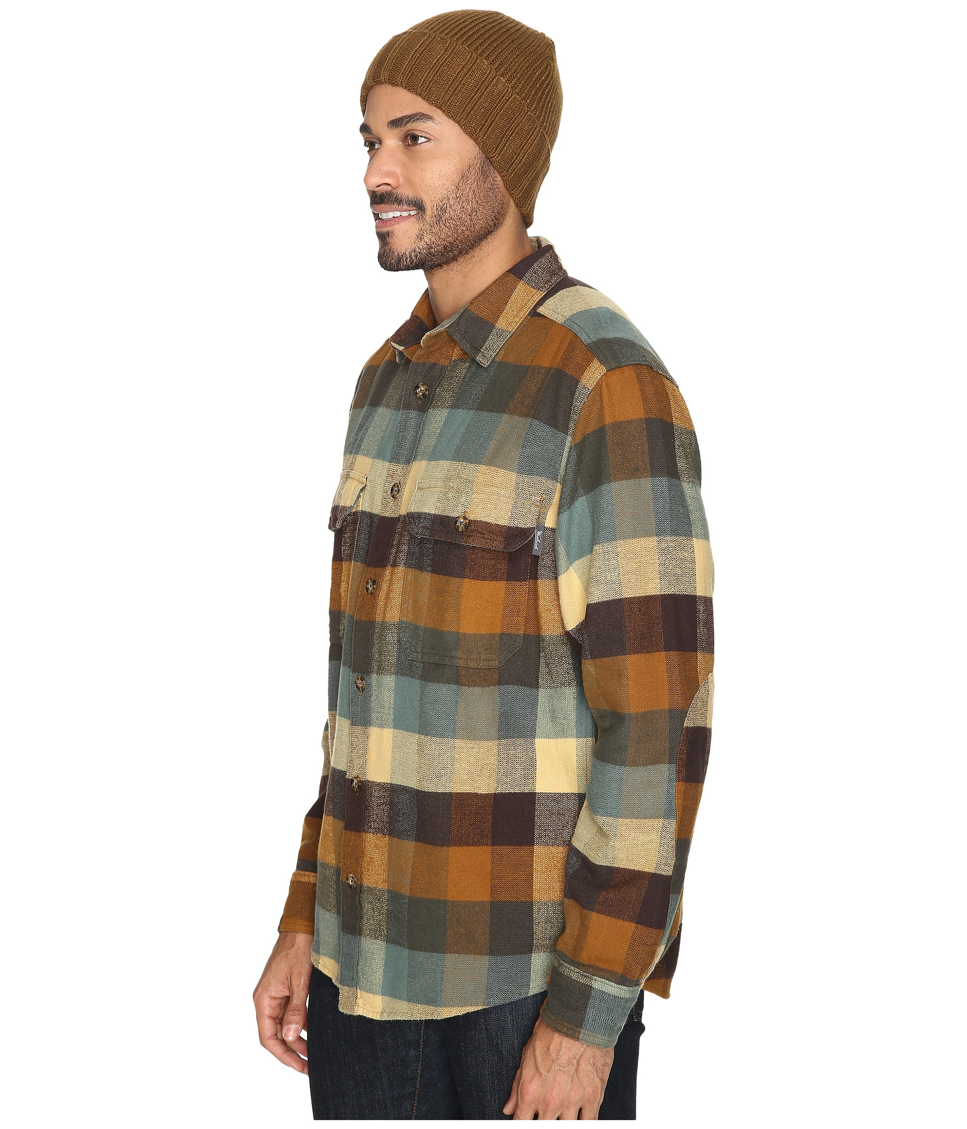 Woolrich oxbow bend flannel shirt chicory for 9 oz flannel shirt