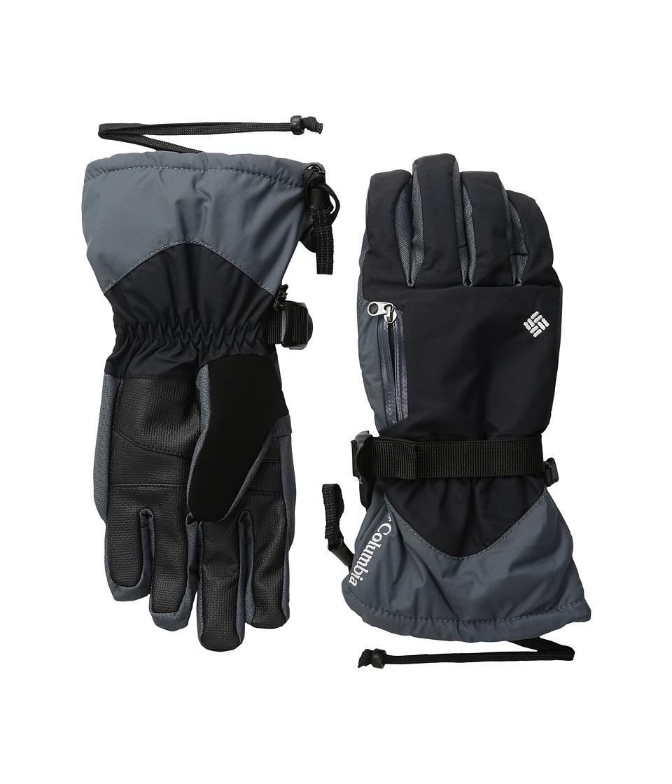 Columbia Bugaboo Interchange Glove (Black/Graphite/White) Extreme Cold Weather Gloves