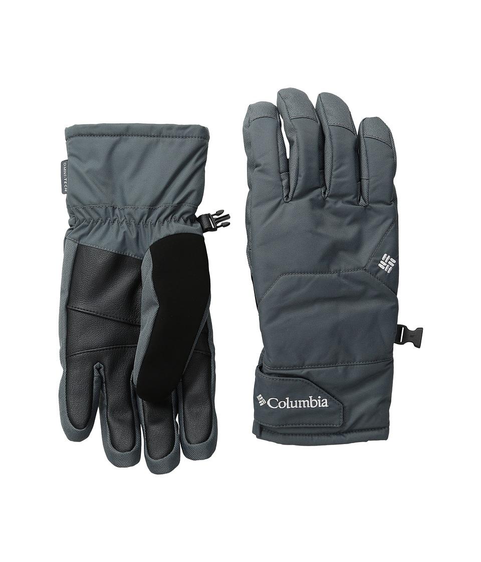 Columbia Whirlibird Short Gloves (Graphite) Ski Gloves