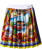 Dolce & Gabbana Kids - River Print Skirt (Big Kids)