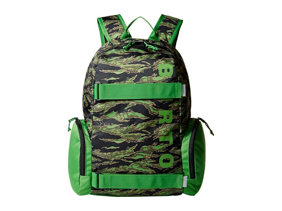 Burton - Emphasis Pack (Little Kid/Big Kid) (Slime Camo Print) Backpack Bags