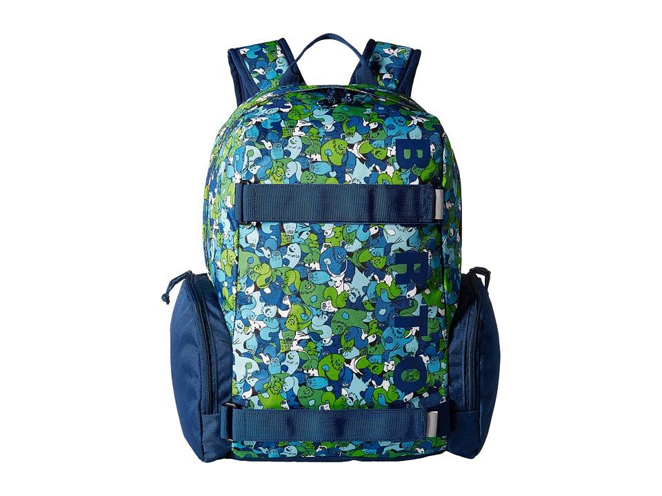 Burton - Emphasis Pack (Little Kid/Big Kid) (Sasquatch Print) Backpack Bags