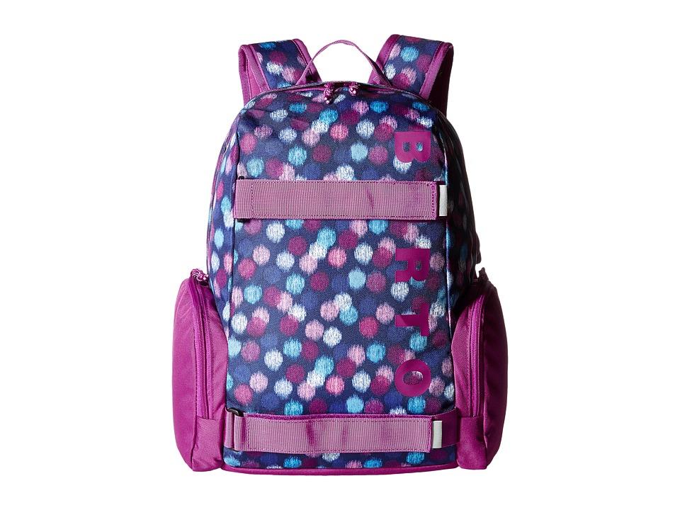 Burton - Emphasis Pack (Little Kid/Big Kid) (Ikat Dot Print) Backpack Bags