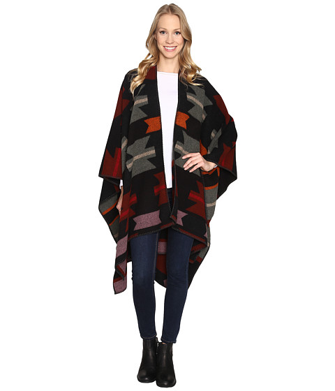 Woolrich Forest Ridge Jacquard Poncho