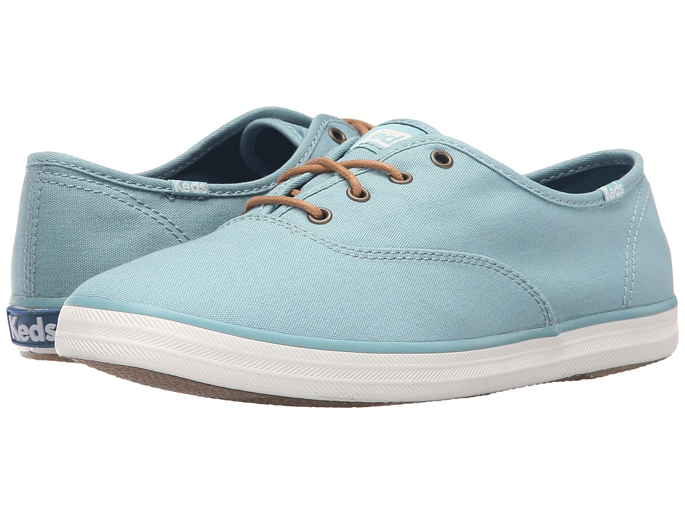 Keds - Champion Seasonal Solids (Dusty Blue) Women