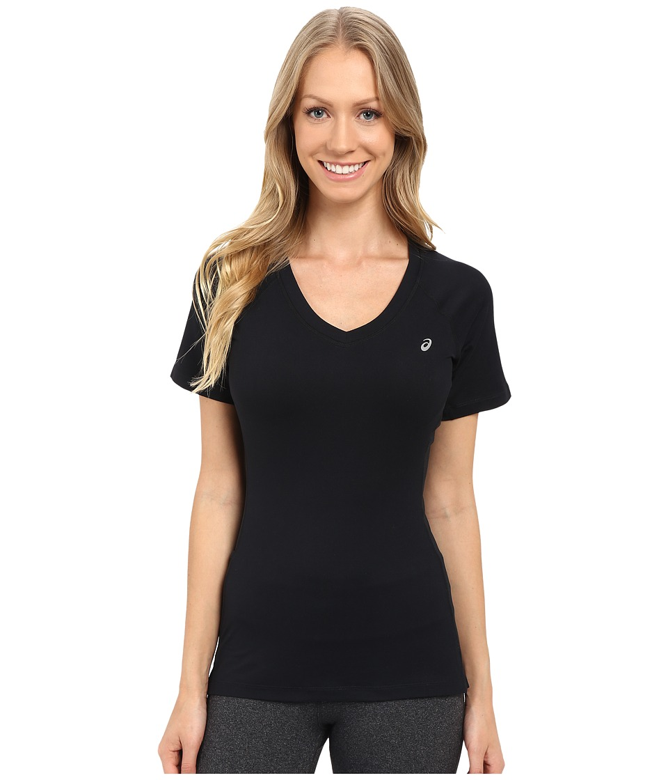 ASICS - ASX Dry Short Sleeve (Performance Black) Women