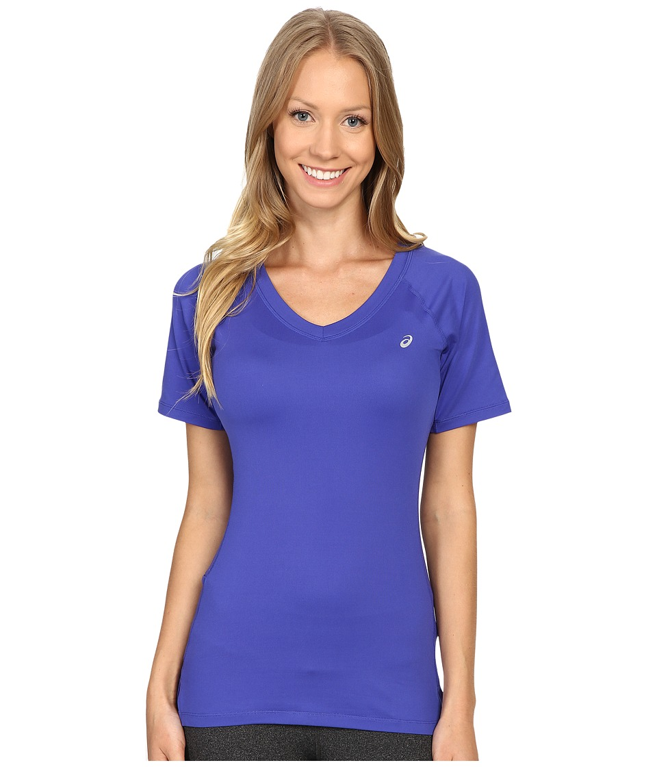ASICS - ASX Dry Short Sleeve (Royal Blue) Women
