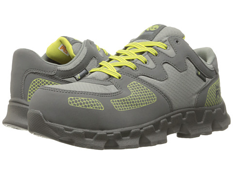 Timberland PRO Powertrain Alloy Safety Toe - Grey Synthetic/Yellow Pops