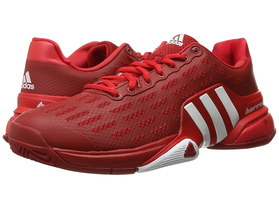 adidas - Barricade 2016 (Power Red/White/Ray Red) Men