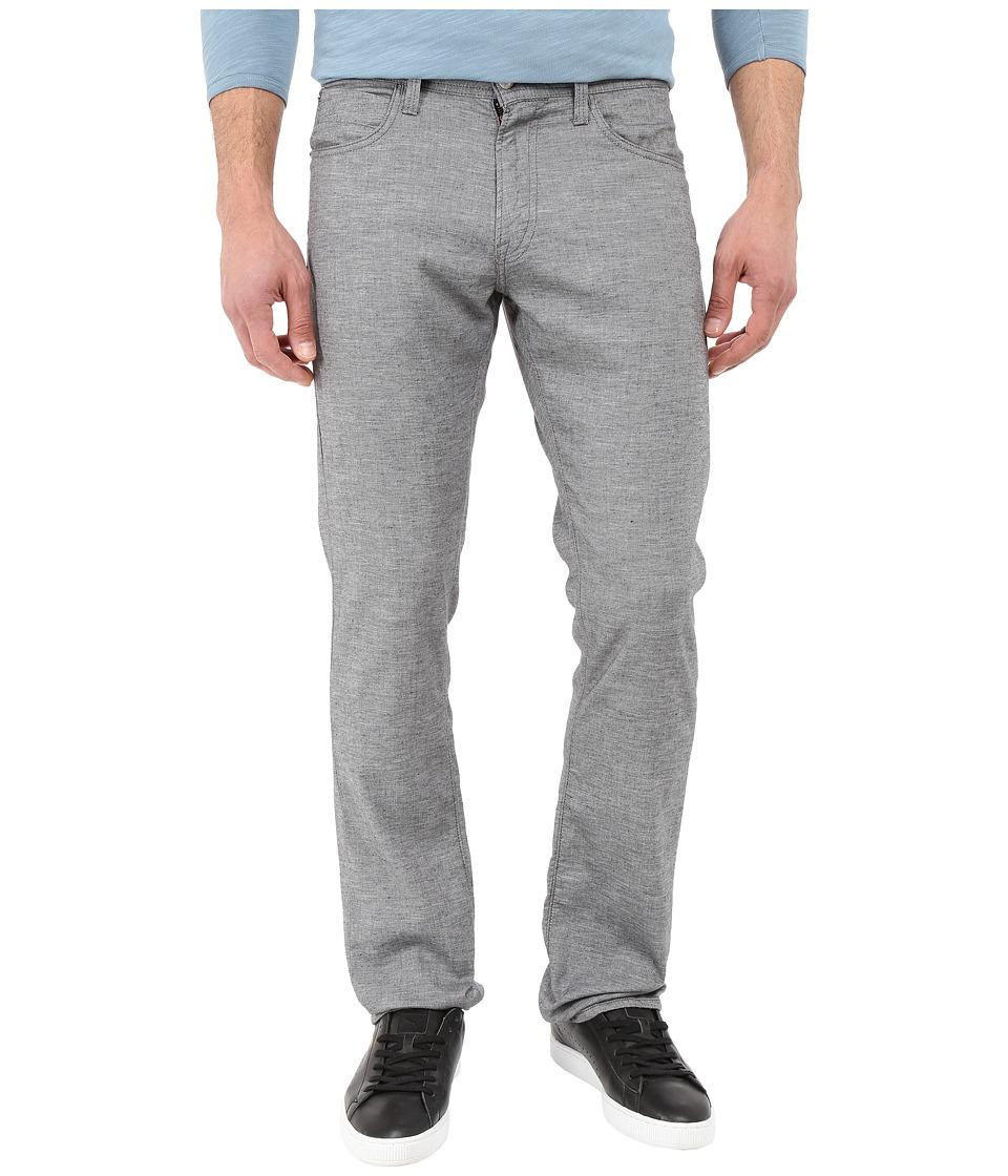 Agave Denim Pragmatist Coco Melange Twill in Gray Gray Mens Casual Pants