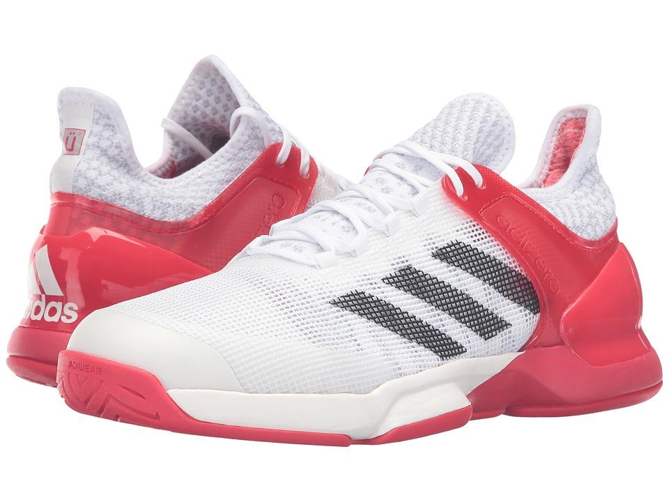 adidas Adizero Ubersonic 2 (White/Black/Red Ray) Men