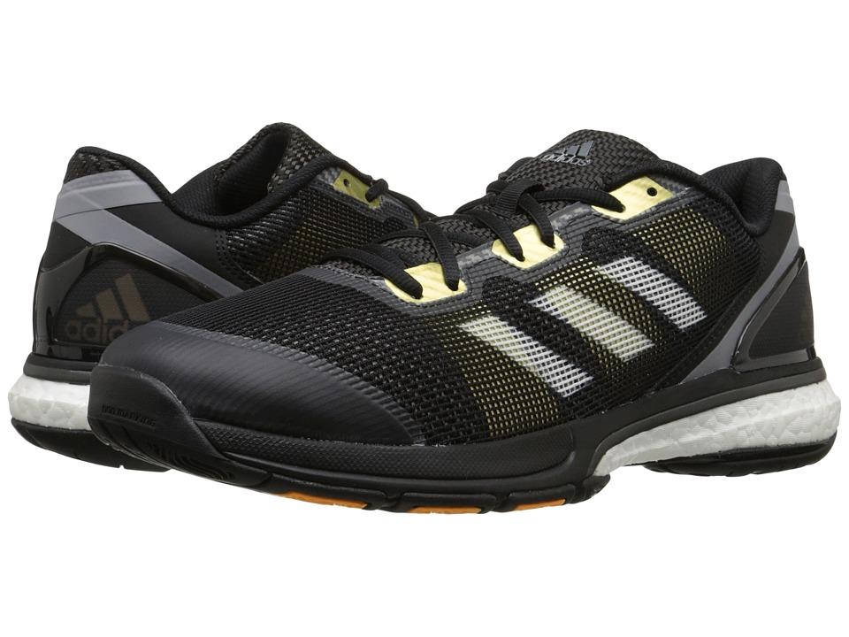 adidas - Stabil Boost II (Black/White/Kurz Silver Foil) Men