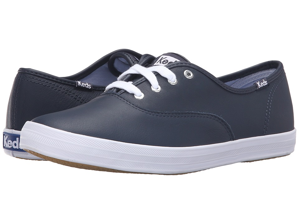 Keds Champion-Leather CVO (Navy) Women's Shoes