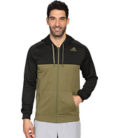 adidas - Team Issue Fleece Full-Zip Hoodie - Block