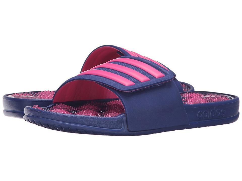 adidas adissage 2.0 3-Stripes (Unity Ink/Shock Pink) Women
