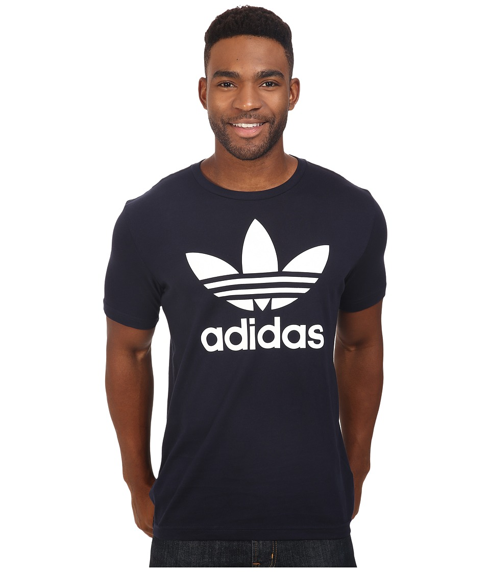 adidas Originals Originals Trefoil Tee (Legend Ink/White) Men