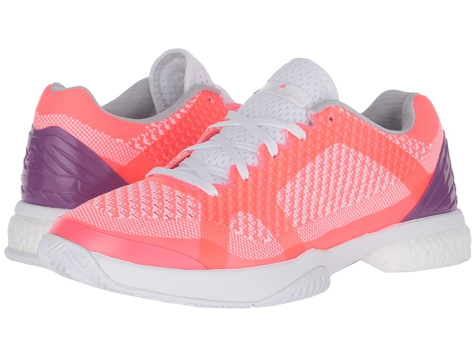 adidas aSMC Barricade Boost (Flash Red/White/Pop Purple) Women
