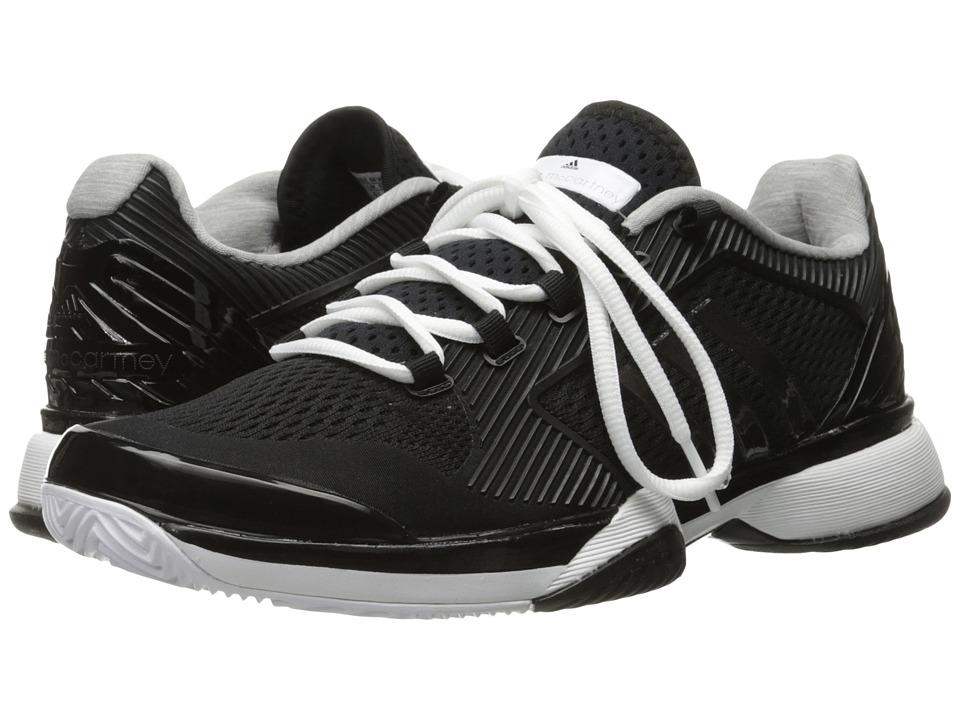 adidas aSMC Barricade 2016 (Black/White/Oyster Grey) Women