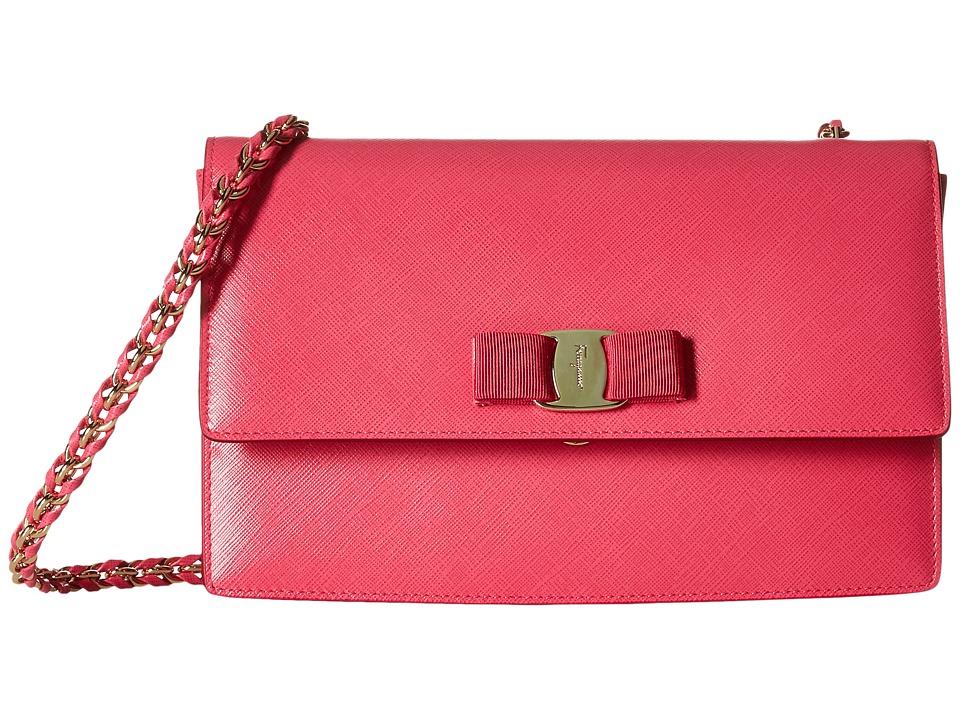 Salvatore Ferragamo - 21E480 Ginny (Framboise) Handbags