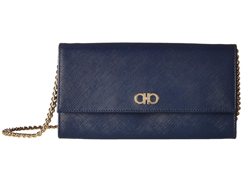 Salvatore Ferragamo - 22C506 (Oxford Blue) Wallet
