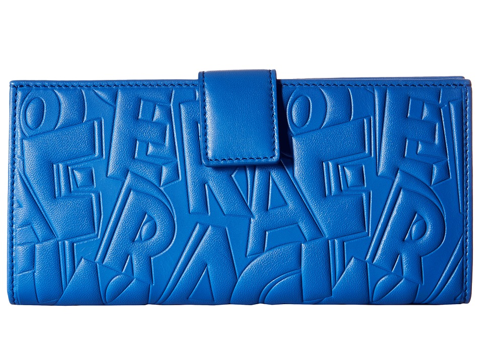 Salvatore Ferragamo - 22C550 (Bleu Indien/Bleu Indien/Bleu Indien) Wallet