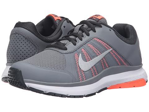 Nike Dart 12 - Cool Gray/Metallic Platinum/Anthracite/Bright Mango