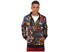 Multicolor Full Zip Hoodie