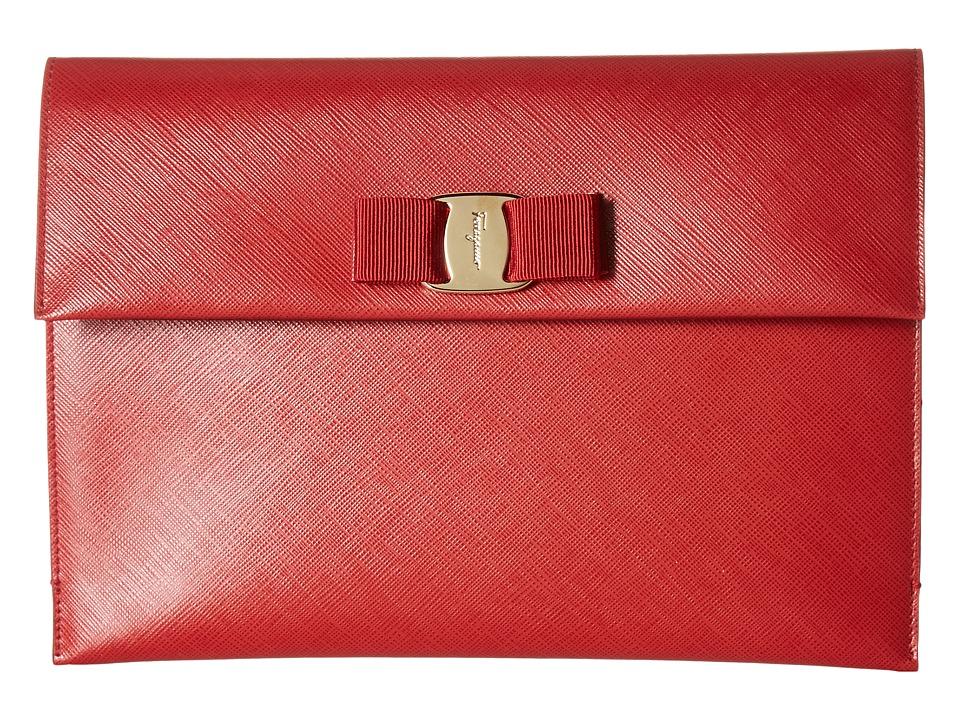 Salvatore Ferragamo - 22C332 (Rosso/Rosso/Rosso) Wallet