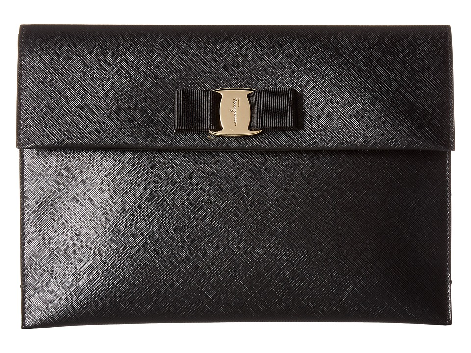 Salvatore Ferragamo - 22C332 (Nero/Nero/Nero) Wallet