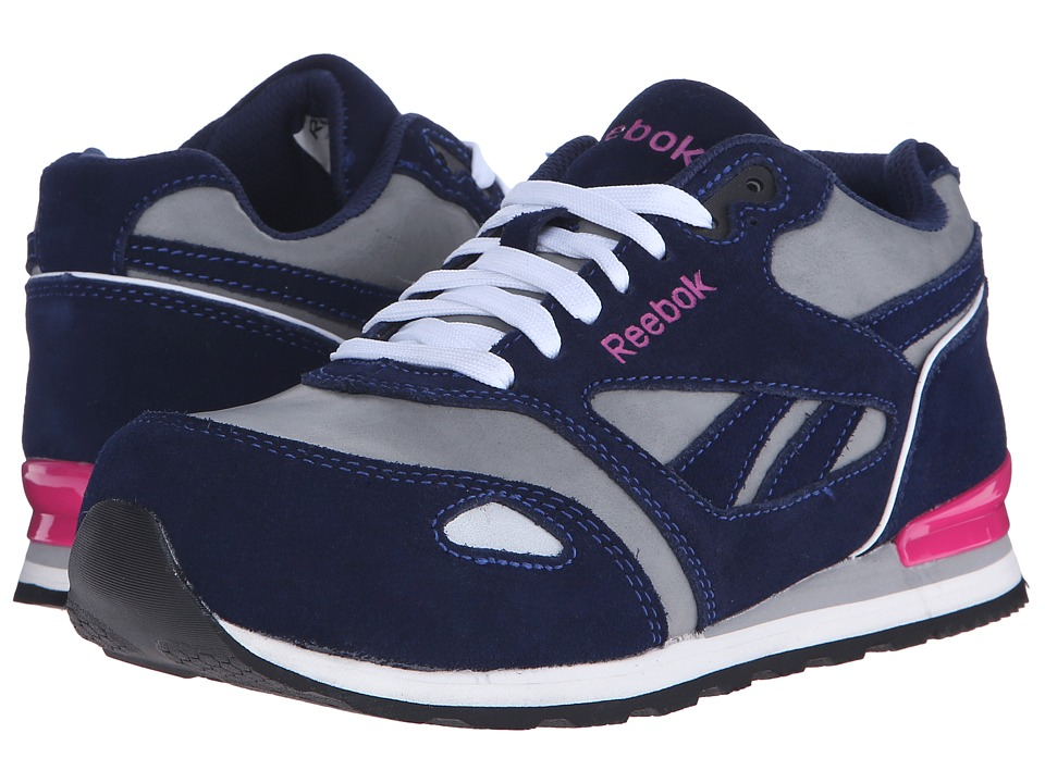 Reebok Work Prelaris (Blue/Grey/Pink) Women