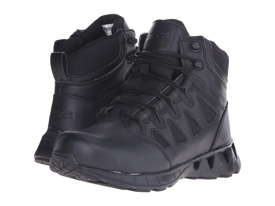 Reebok Work Zigkick Tactical Waterproof (Black) Women