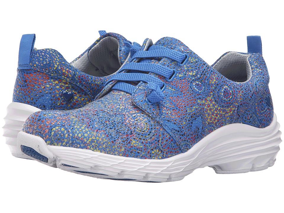 Nurse Mates Velocity (Blue Multi) Women's Shoes