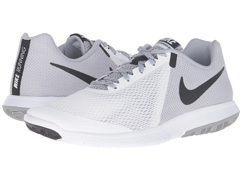 Nike Flex Experience RN 5 White/Black/Wolf Grey - Zappos.com Free Shipping BOTH Ways