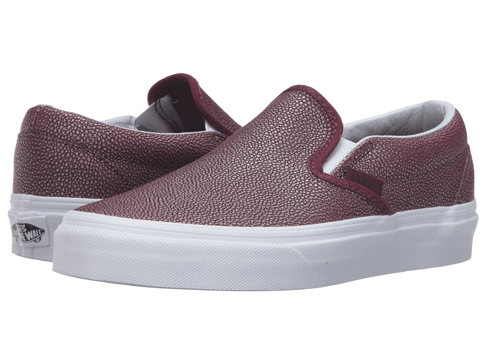 Vans Classic Slip-On ((Embossed Stingray) Port Royale) Skate Shoes