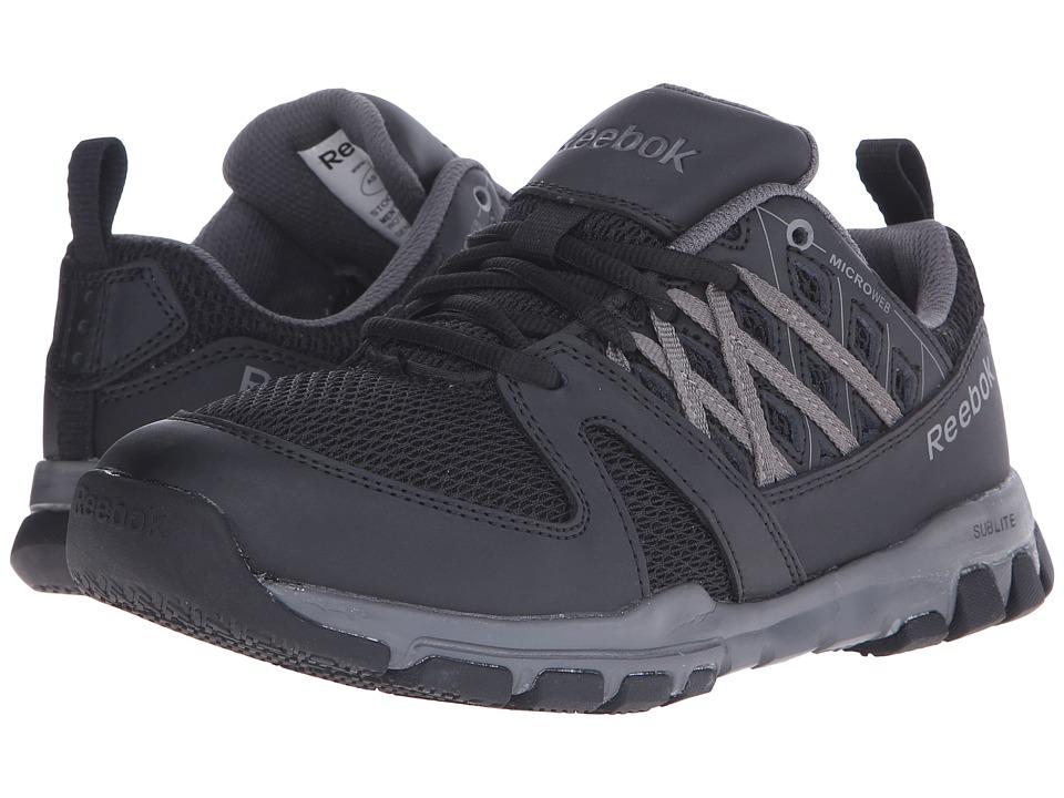 Reebok Work Sublite Work Soft Toe (Black) Women's Work Boots