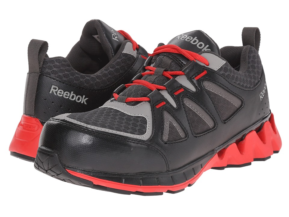Reebok Work - Zigkick Work (Black/Red) Men's Work Boots