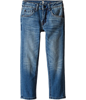 7 For All Mankind Kids - The Slimmy Slim Straight Five-Pocket Stretch Denim Jeans in Airblue (Little Kids/Big Kids)