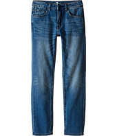 7 For All Mankind Kids - The Slimmy Slim Straight Five-Pocket Stretch Denim Jeans in Airblue (Big Kids)