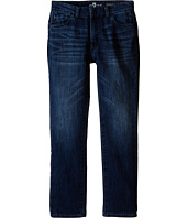 7 For All Mankind Kids - The Slimmy Slim Straight Five-Pocket Knit Stretch Denim Jeans in Triumph (Big Kids)