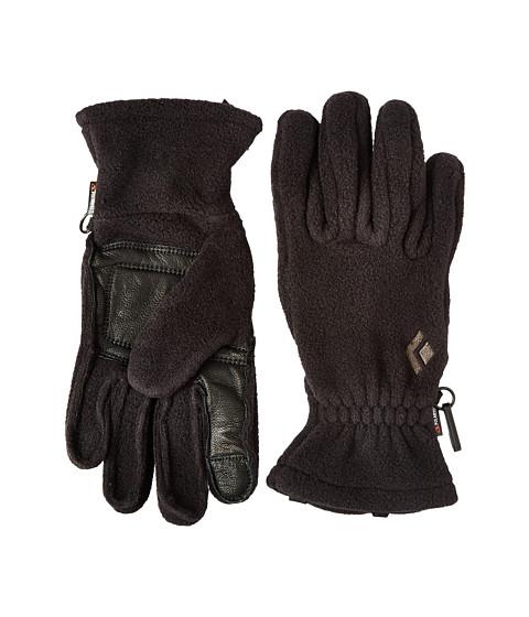 Black Diamond MidWeight Fleece Gloves - Black