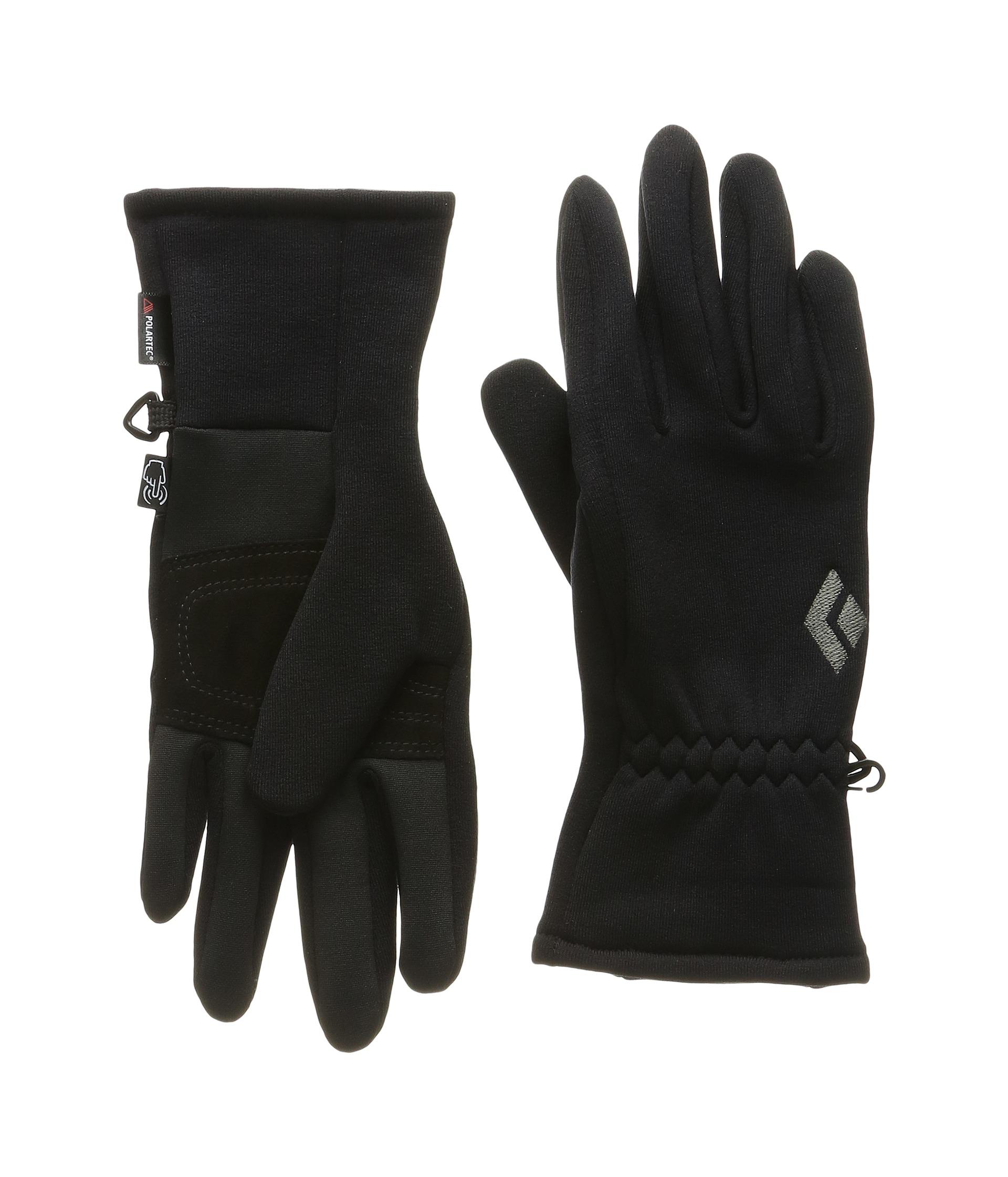 Womens leather ski gloves - Black Diamond Midweight Screentap Gloves