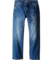 7 For All Mankind Kids - The Standard Classic Straight Five-Pocket Stretch Denim Jeans in Marine Blue (Little Kids/Big Kids)