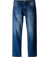 7 For All Mankind Kids - The Standard Classic Straight Five-Pocket Stretch Denim Jeans in Marine Blue (Big Kids)