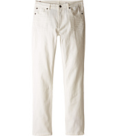 7 For All Mankind Kids - The Slimmy Slim Straight Five-Pocket Denim Jeans in Ecru (Big Kids)