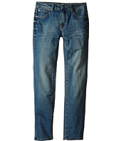 7 For All Mankind Kids - The Slimmy Slim Straight Five-Pocket Denim Jeans in Barbados Blue (Big Kids)